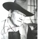 JOHN WAYNE  Signed Autograph 8x10 inch. Picture Photo REPRINT