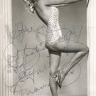 Gorgeous JAYNE MANSFIELD Signed Autograph 8x10  Picture Photo REPRINT