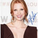 Gorgeous JESSICA CHASTAIN Signed Autograph 8x10  Picture Photo REPRINT