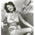 Gorgeous JANE RUSSELL Signed Autograph 8x10  Picture Photo REPRINT