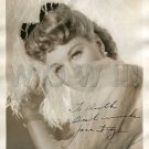 Gorgeous JANE FRAZEE Signed Autograph 8x10  Picture Photo REPRINT