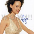 Gorgeous HILARY SWANK Signed  Autograph 8x10 in. Picture Photo REPRINT