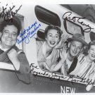 HONEYMOONERS  Signed Autograph 8x10 inch. Picture Photo REPRINT