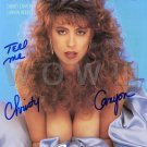Gorgeous CHRISTY CANYON Signed Autograph 8x10 inch. Picture Photo REPRINT