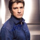 NATHAN FILLION  Signed Autograph 8x10 inch. Picture Photo REPRINT
