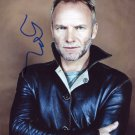 STING  Signed Autograph 8x10  Picture Photo REPRINT