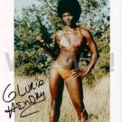 Gorgeous GLORIA HENDRY Signed Autograph 8x10 inch. Picture Photo REPRINT