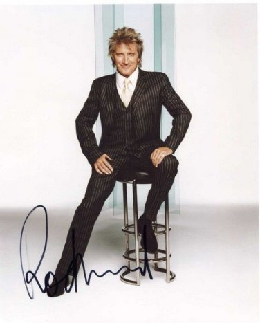 ROD STEWART  Signed Autograph 8x10  Picture Photo REPRINT