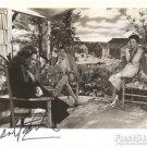 Gorgeous ANNE BAXTER Signed Autograph 8x10 inch. Picture Photo REPRINT