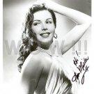 Gorgeous ANN MILLER Signed Autograph 8x10 inch. Picture Photo REPRINT