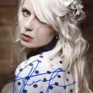 Gorgeous AMANDA JENSSEN Signed Autograph 8x10 inch. Photo Picture REPRINT