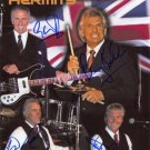HERMAN,S HERMITS  Signed Autograph 8x10  Picture Photo REPRINT