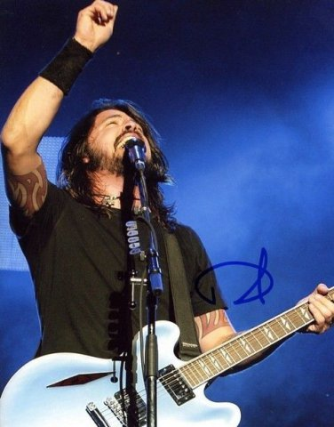 FOO FIGHTERS  Signed Autograph 8x10  Picture Photo REPRINT