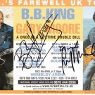 BB KING and GARY MOORE Autographed signed 8x10 Photo Picture REPRINT
