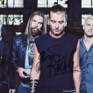 BUSH ROCK BAND Autographed signed 8x10 Photo Picture REPRINT
