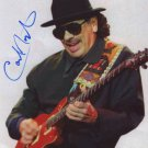 CARLOS SANTANA  Autographed signed 8x10 Photo Picture REPRINT