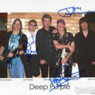 DEEP PURPLE Autographed signed 8x10 Photo Picture REPRINT