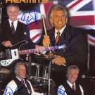 HERMAN,S HERMITS Autographed signed 8x10 Photo Picture REPRINT