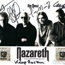 NAZARETH Autographed signed 8x10 Photo Picture REPRINT
