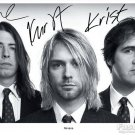 NIRVANA Autographed signed 8x10 Photo Picture REPRINT