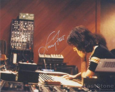 LARRY FAST PETER GABRIEL  Autographed signed 8x10 Photo Picture REPRINT