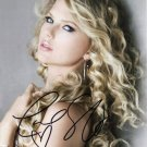 TAYLOR SWIFT Autographed signed 8x10 Photo Picture REPRINT