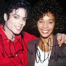 WHITNEY HOUSTON Autographed signed 8x10 Photo Picture REPRINT