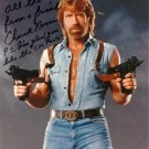 CHUCK NORRIS Autographed Signed 8x10 Photo Picture REPRINT