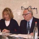 PIERRE CARDIN   Autographed Signed 8x10Photo Picture REPRINT