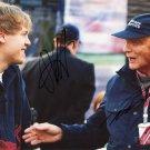 VETTEL&LAUDA  Autographed Signed 8x10Photo Picture REPRINT