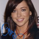 ALYSON HANNIGAN Autographed Signed 8x10Photo Picture REPRINT