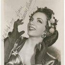 CARMEN MIRANDA Autographed Signed 8x10 Photo Picture REPRINT