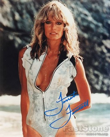 FARRAH FAWCETT Autographed Signed 8x10 Photo Picture REPRINT