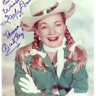 GAIL DAVIS Autographed Signed 8x10 Photo Picture REPRINT