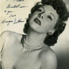 GEORGIA SOTHERN  Autographed Signed 8x10 Photo Picture REPRINT