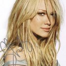 HILARY DUFF  Autographed Signed 8x10 Photo Picture REPRINT