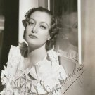 JOAN CRAWFORD  Autographed Signed 8x10 Photo Picture REPRINT