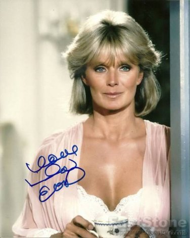 LINDA EVANS  Autographed Signed 8x10 Photo Picture REPRINT
