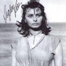 SOPHIA LOREN  Autographed Signed 8x10 Photo Picture REPRINT