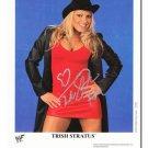 TRISH STRATUS  Autographed Signed 8x10 Photo Picture REPRINT