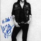 LEMMY MOTORHEAD Autographed signed 8x10 Photo Picture REPRINT