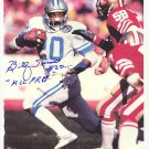 BILLY SIMS Autographed signed 8x10 Photo Picture REPRINT