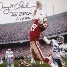 Dwight Clark  Autographed signed 8X10 Photo Picture REPRINT