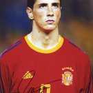 FERNANDO TORRES Autographed signed 8X10 Photo Picture REPRINT