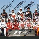 F1 GRAND PRIX 2009 Autographed signed 8x10 Photo Picture REPRINT