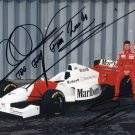 HAKKINEN COULTHARD Autographed signed 8x10 Photo Picture REPRINT