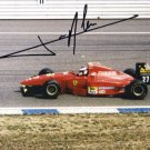 JEAN ALESI Autographed signed 8x10 Photo Picture REPRINT