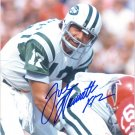 JOE NAMATH Autographed signed 8x10 Photo Picture REPRINT