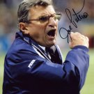 JOE PATERNO Autographed signed 8x10 Photo Picture REPRINT