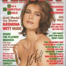 KATARINA WITT Autographed signed 8x10 Photo Picture REPRINT
